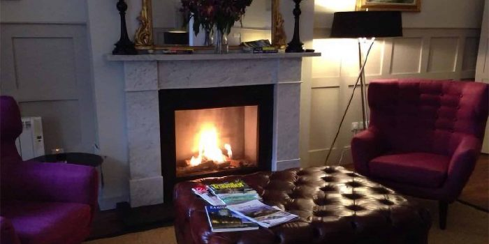 Fireside with Arm Chairs